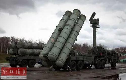 ▲资料图片:俄罗斯S-400防空导弹系统。