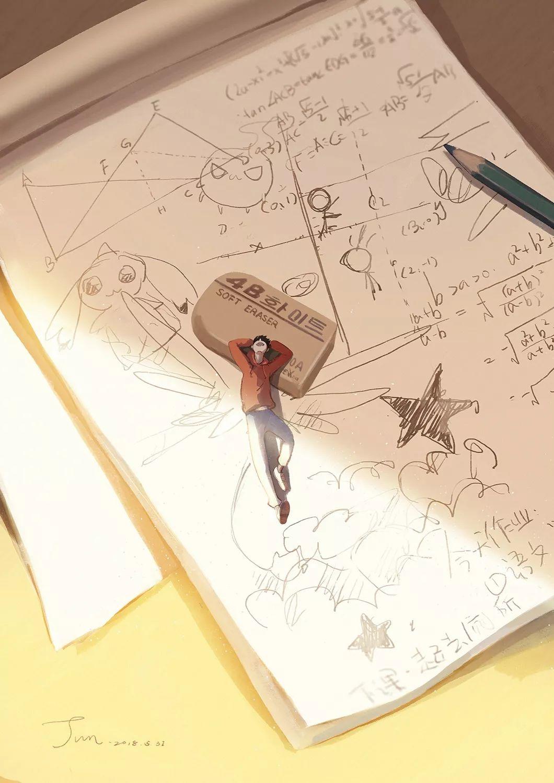 ps手绘板「清新幻想」风格插画10节课报名啦