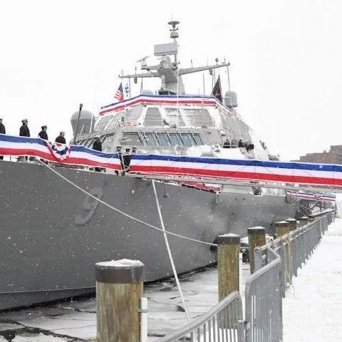"""美军想在北约秀操作,结果军舰被……""""冻坏""""了!"""
