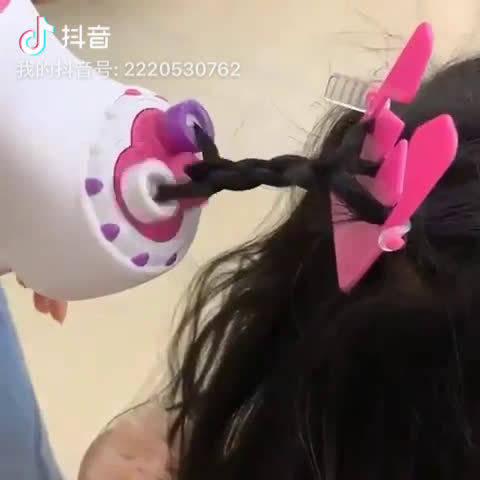 麻花辫编织机,妈妈再也不用愁为女儿梳头发!