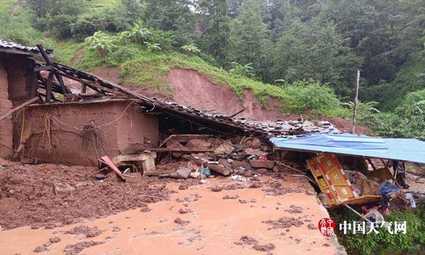 强降雨南北分立 黑龙江云南贵州等有暴雨
