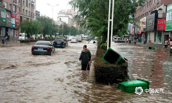 河南广东等地有暴雨 重庆江西高温持续