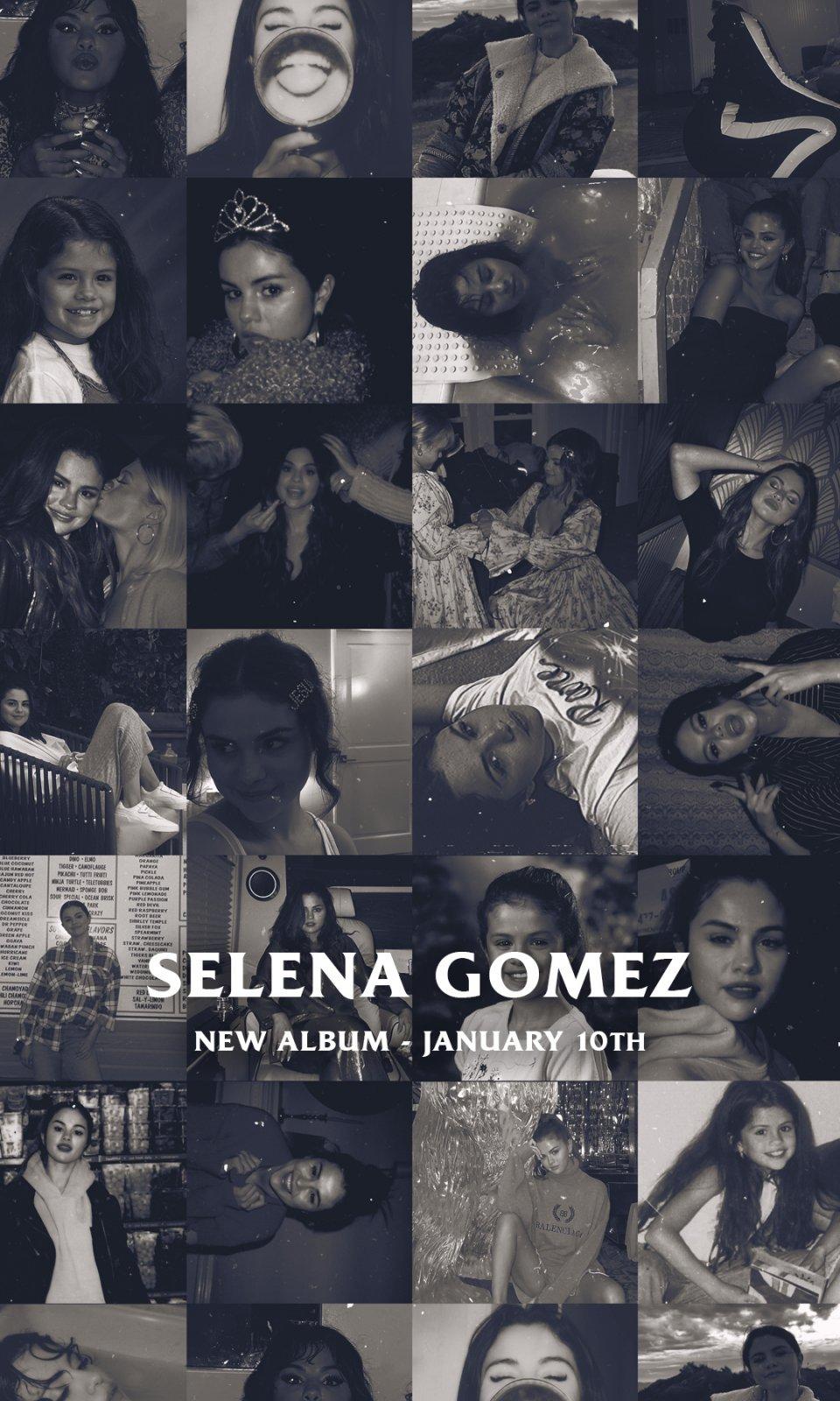 赛琳娜·戈麦斯明年1月发新专辑,以36个不同封面发行