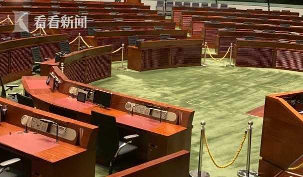 香港立法会下周三复会 立法会大楼已大致修复