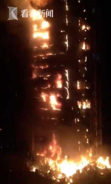 视频|沈阳一居民楼突发火灾 火势蔓延18层无人员伤亡