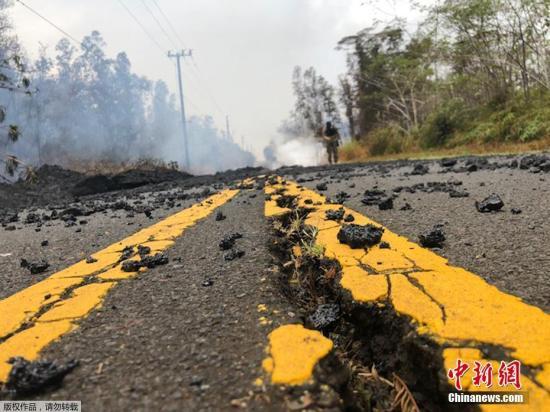 夏威夷火山爆炸性喷发威胁上升 岩石或抛射数英里
