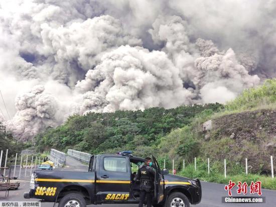 危地马拉火山喷发69人死亡 盘点近年最致命火山爆发