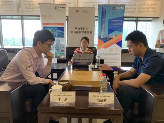 华为手机杯围甲季后赛第二轮  上海建桥不敌杭州龙元无缘四强
