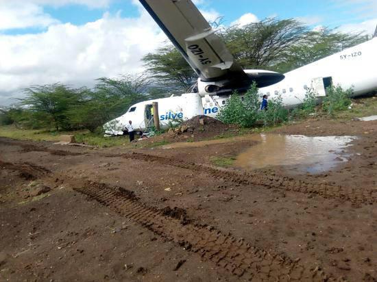肯尼亚客机坠毁 有部分乘客受伤 坠机原因调查中