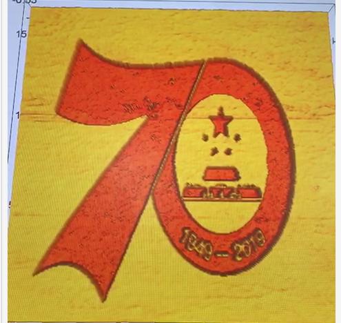 "<b>高校学生用显微镜扫描探针绘""70图案""祝国庆</b>"