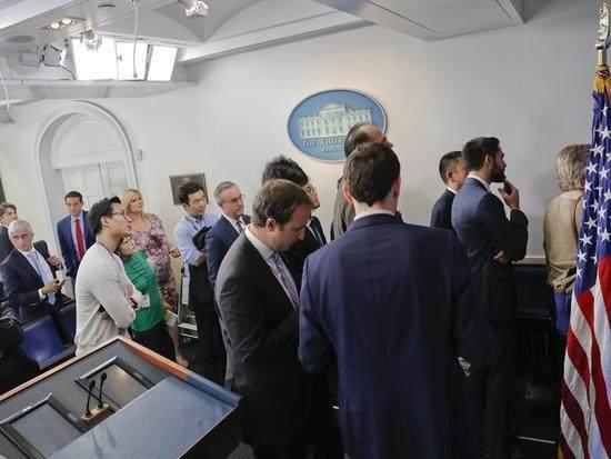 白宫的记者招待会