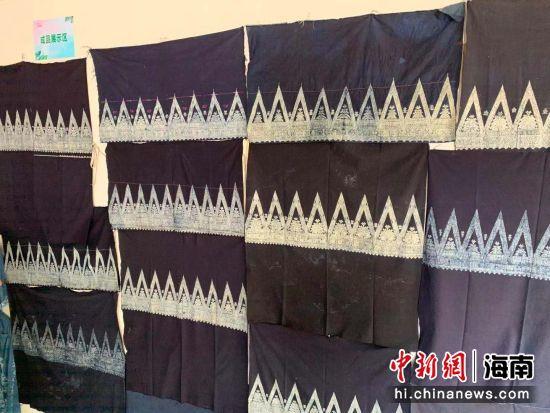 官员学者聚儋州共议苗族蜡染文化保护与传承(图))