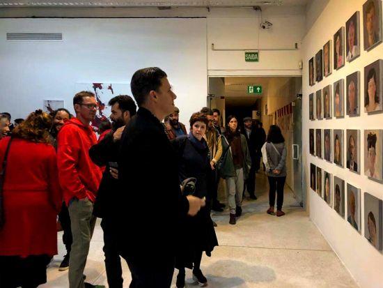中国艺术家童雁汝南携肖像组画亮相2019库里蒂巴国际当代艺术双年展