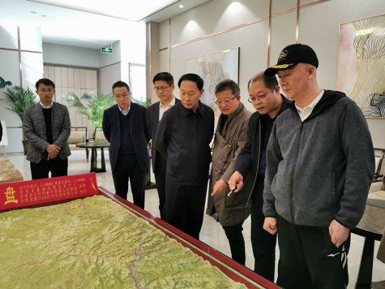 中国健康产业投资基金考察团来兰考察