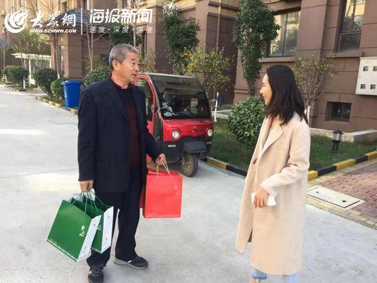 日照一茶企为枣庄高龄产妇送上爱心茶 承诺愿替其缴社会抚养费