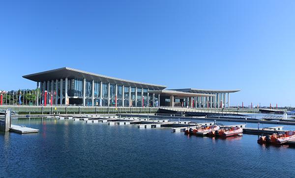 青岛国际会议中心。本文图片均由 中建八局 供图