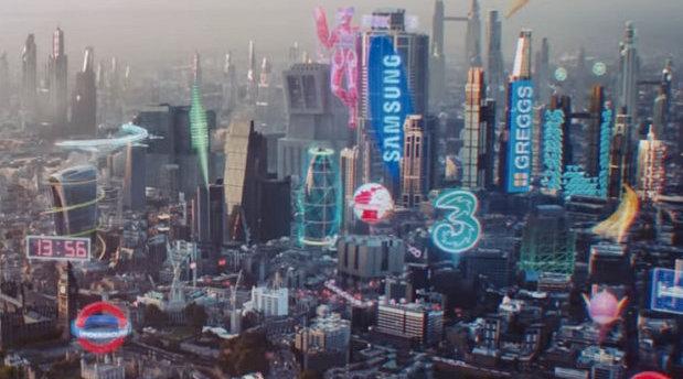 英国手机运营商Three UK 最新5G电视广告
