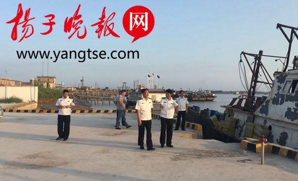 省渔政深入响水全力做好12号台风防御工作