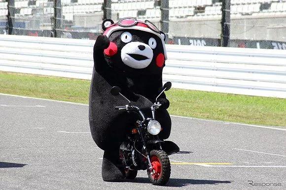 为了防止疫情扩散,熊本熊暂时停止握手和拥抱营业