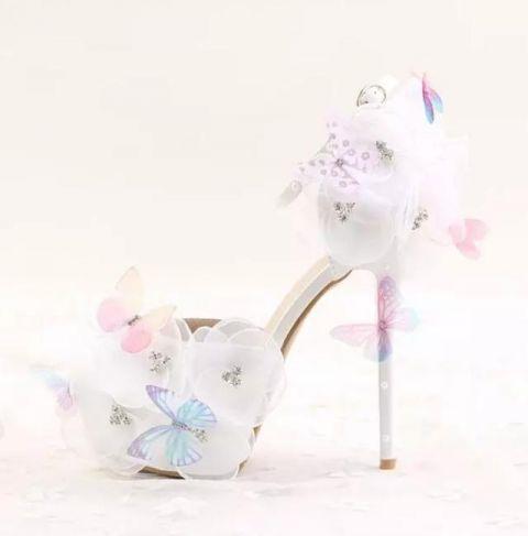 十二星座专属的唯美公主鞋,天秤的小巧可爱,水瓶座的粉嫩十足!男天蝎和女白羊座图片