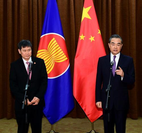 林玉辉表示,中国是东盟最具活力的战略伙伴,感谢中方支持和参与图片
