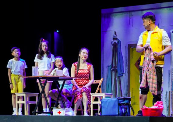 中国版《摇滚校园》究竟有多燃?艺术节首部儿童音乐剧《缺一不可》席卷申城