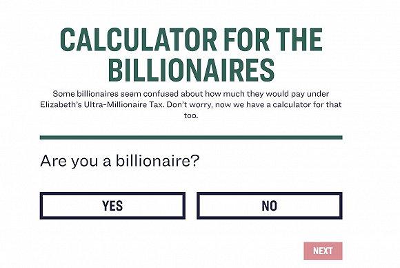 盖茨担忧被征千亿美元富人税 沃伦发布税收计算器