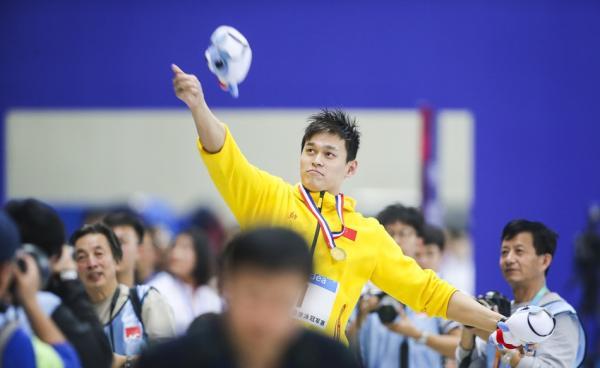 孙杨800米创世界最佳:前无古人 奥运就差这一金