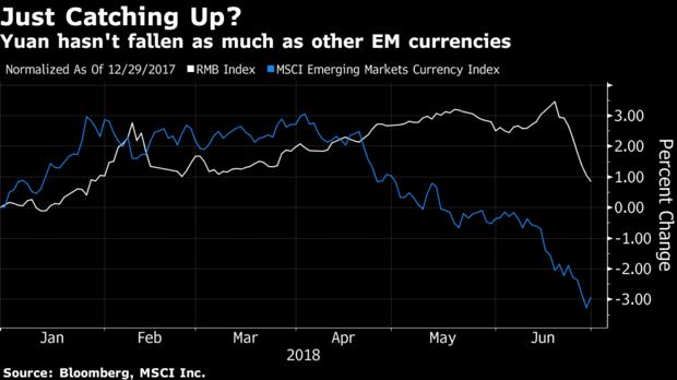 摩根士丹利:中国将采取措施以阻止人民币无序贬值