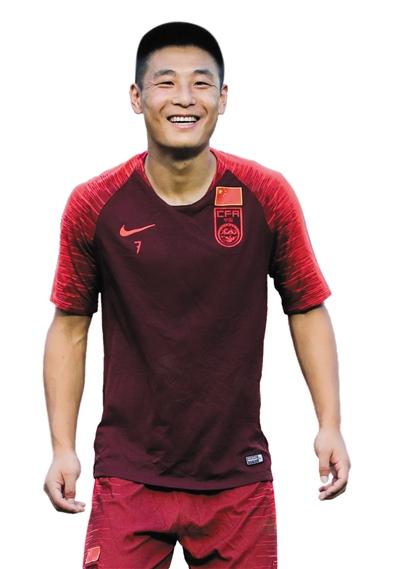 虽然旅途劳顿,但武磊在训练中精神状态不错。   图/Osports