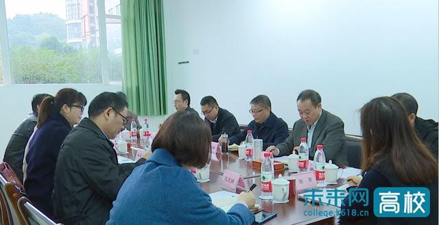 四川轻化工大学党委书记调研应用技术学院和盐帮美食学院