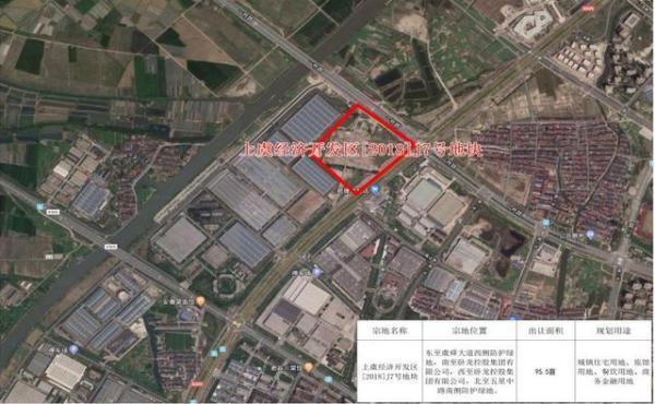 卧龙地产底价3.85亿元摘得绍兴市一宗商住用地