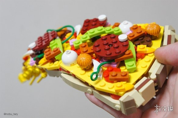 下班点危害社会图集 日本玩家乐高积木制作各种美食