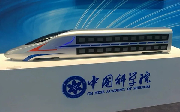 中国未来双层高铁动车曝光:时速350公里没问题(图)