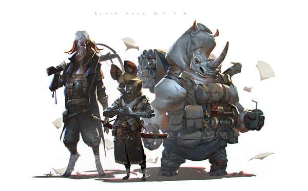 印尼游戏概念画设计师精选作品赏 画风写实,细节超赞