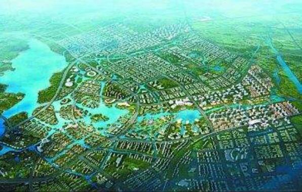 三水新城规划图