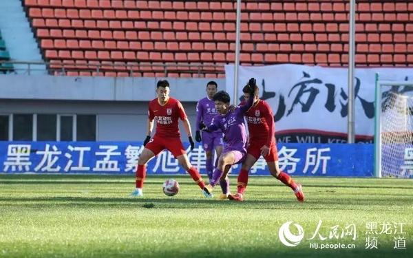 2019年度中甲联赛黑龙江FC位列第四名
