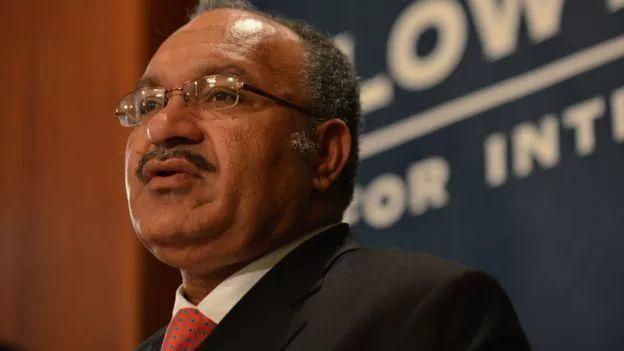 ▲巴布亚新几内亚独立国总理奥尼尔(盖帝图像)