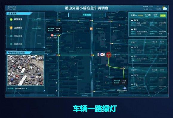 图片来自高德地图 高德集团总裁刘振飞展示