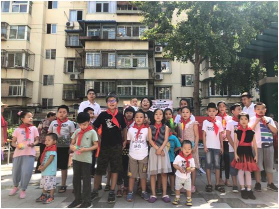 恒丰银行北京分行携手北京市西城区牛街   春风社区开展环保公益活动