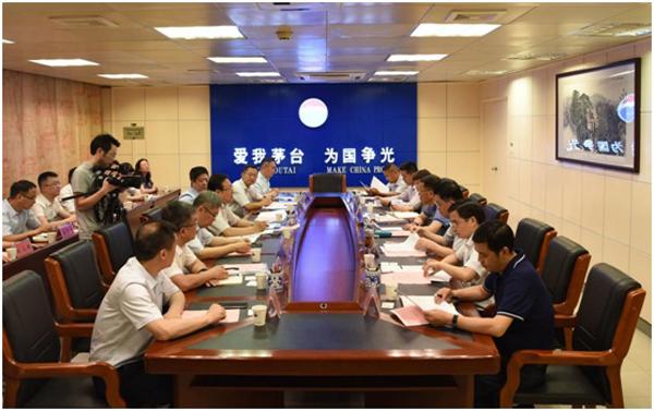 茅台董事长:考虑与中国人寿战略合作 和央企合作放心