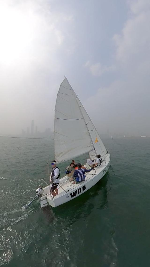 """""""WOB欢迎来航海帆船赛""""继续扬帆浮山湾 克利伯船员借此保持状态"""