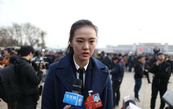 张常宁首次担任人大代表。 视觉中国 图