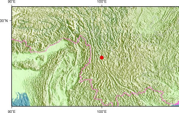 4月15日12时37分云南大理州洱源县发生2.8级地震