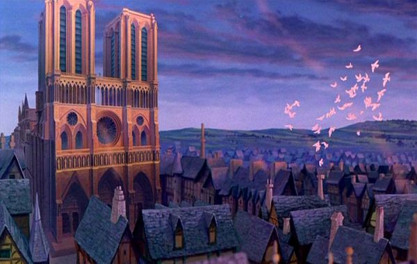 迪士尼動畫電影《鐘樓怪人》劇照(資料圖片)