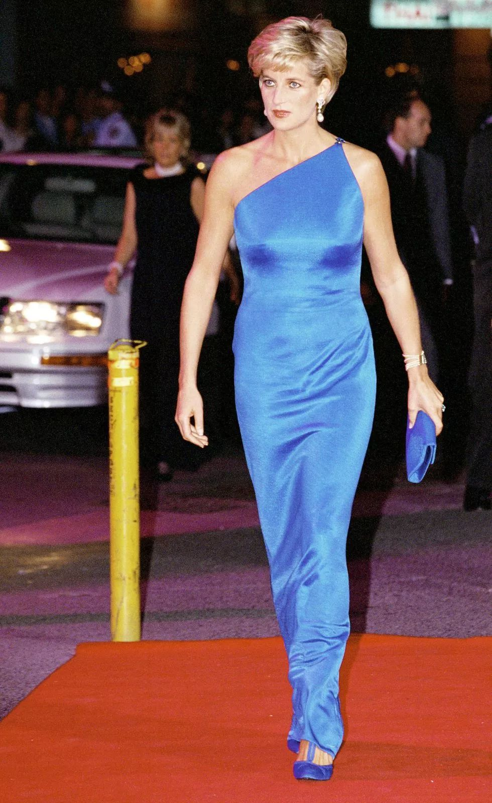 Princess Diana at the Victor Chang Charity Ball for the Cardiac Research Institute, 1996