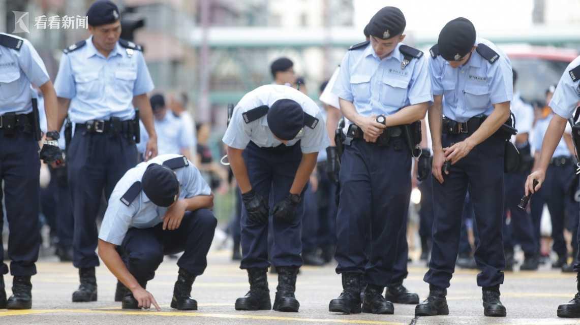 香港警方屯门执勤时遗失一枚子弹 目前暂未寻回
