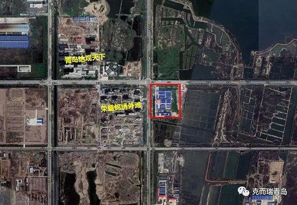 胶州荣盛·锦绣外滩项目规划出炉,总建面超10万方