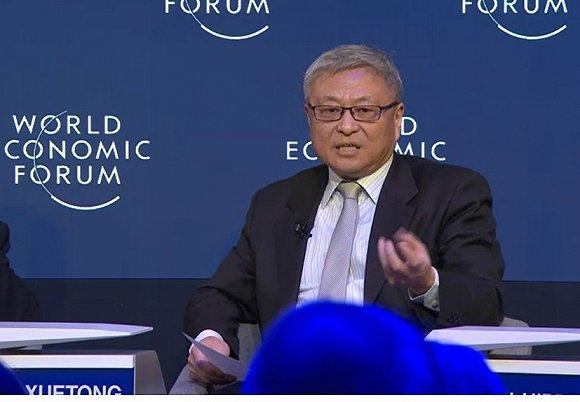 阎学通 阎学通:目前对中国来说最令人担忧的是和美国的关系.