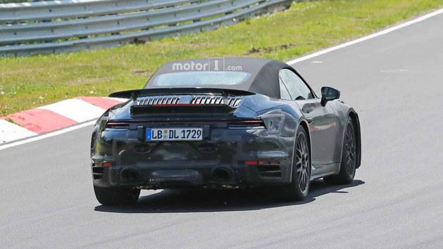 保时捷911 Turbo敞篷版 或2019年亮相